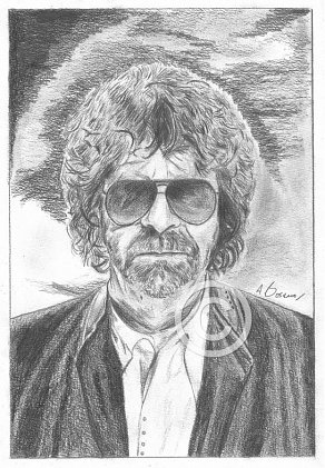 Jeff Lynne Pencil Portrait