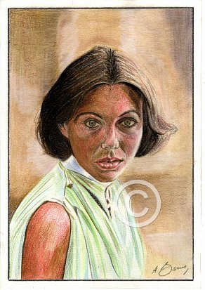 Jenny Agutter Pencil Portrait