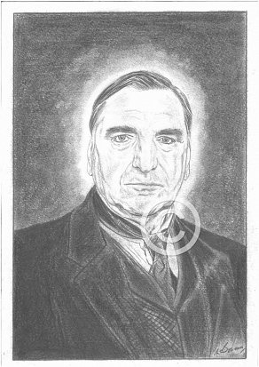 Jim Carter Pencil Portrait