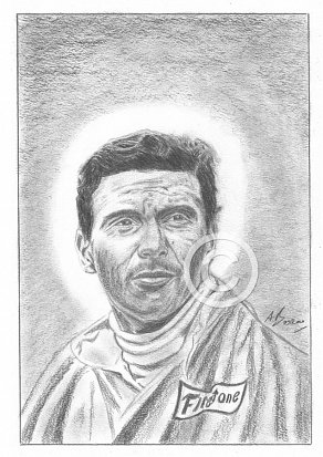 Jim Clark Pencil Portrait