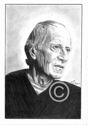 John Barry Pencil Portrait