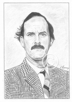 John Cleese Pencil Portrait