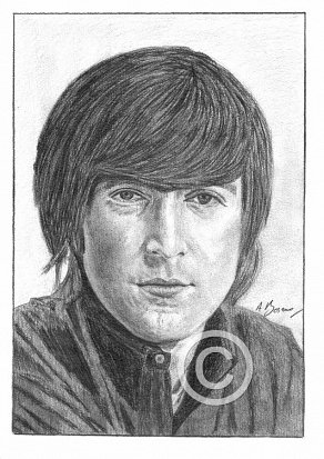 John Lennon Pencil Portrait