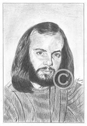 John Peel Pencil Portrait