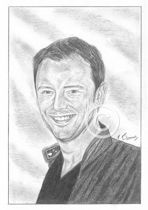 John Simm Pencil Portrait