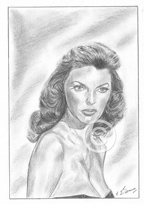 Julie London Pencil Portrait