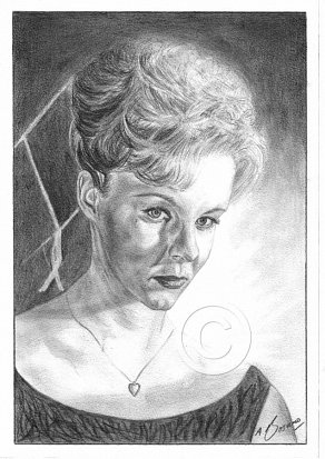 June Ritchie Pencil Portrait