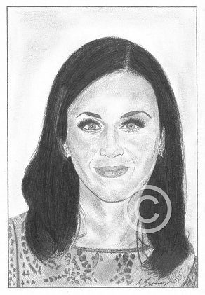 Katy Perry Pencil Portrait