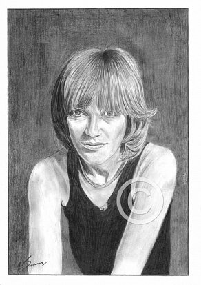 Kiki Dee Pencil Portrait