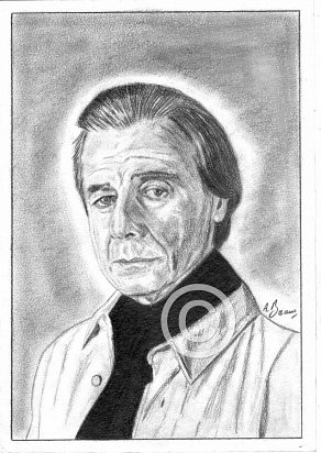 Lalo Schifrin Pencil Portrait