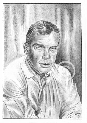 Lee Marvin Pencil Portrait