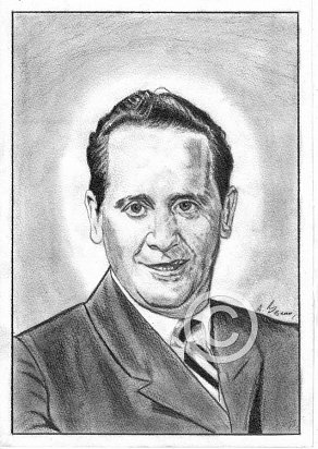 Les Paul Pencil Portrait