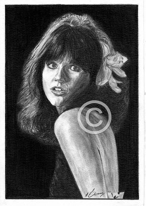 Linda Ronstadt Pencil Portrait