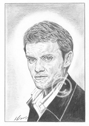 Marc Warren Pencil Portrait