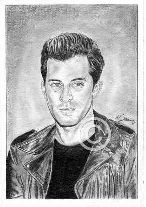 Mark Ronson Pencil Portrait