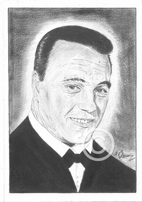 Matt Monro Pencil Portrait