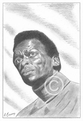 Miles Davis Pencil Portrait