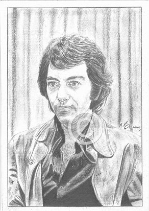 Neil Diamond Pencil Portrait