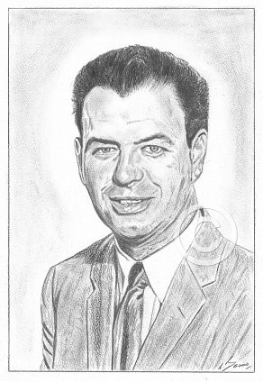 Nelson Riddle Pencil Portrait