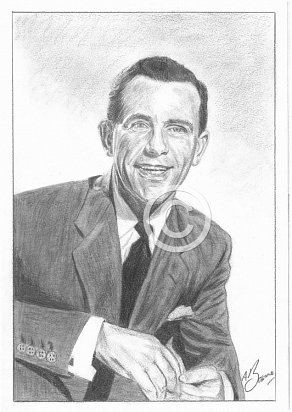 Norman Wisdom Pencil Portrait