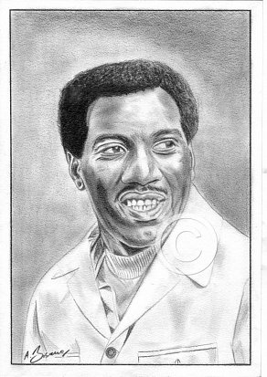 Otis Redding Pencil Portrait