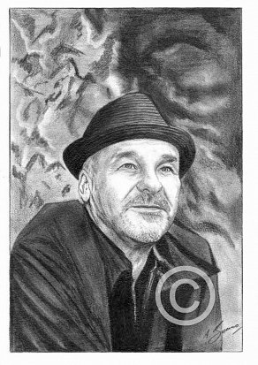 Paul Carrack Pencil Portrait