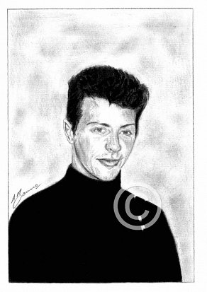 Pete Best Pencil Portrait