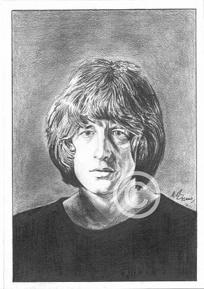 Pete Ham Pencil Portrait