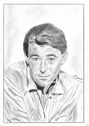 Peter O'Toole Pencil Portrait