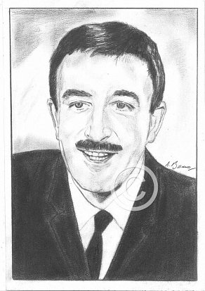 Peter Sellers Pencil Portrait