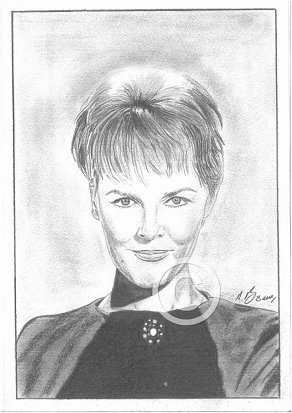 Petula Clark Pencil Portrait
