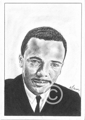 Quincy Jones Pencil Portrait