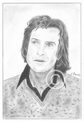 Ray Davies Pencil Portrait