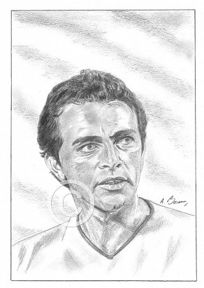 Richard Burton Pencil Portrait