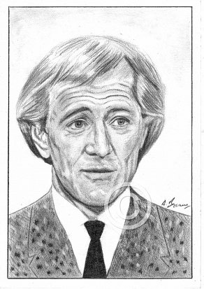 Richard Harris Pencil Portrait