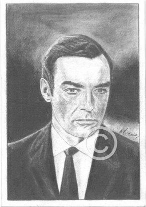 Richard Johnson Pencil Portrait