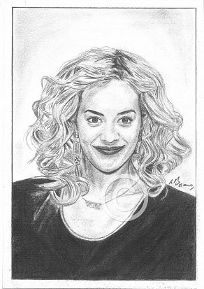 Rita Ora Pencil Portrait