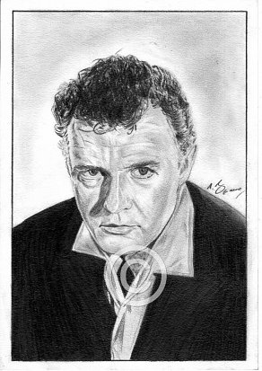 Rod Steiger Pencil Portrait