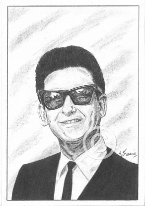 Roy Orbison Pencil Portrait