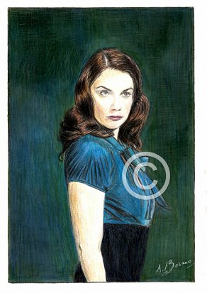 Ruth Wilson Pencil Portrait