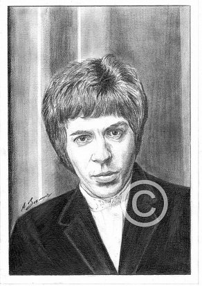 Scott Walker Pencil Portrait