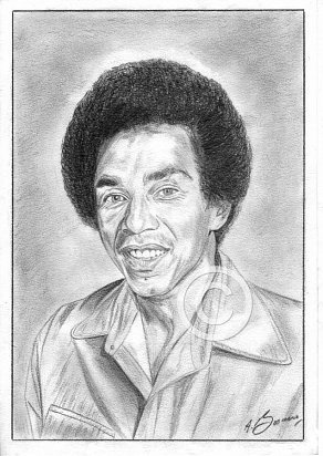 Smokey Robinson Pencil Portrait