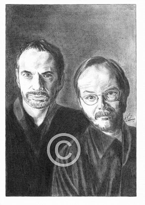 Steely Dan Pencil Portrait