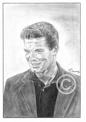 Stephen Boyd Pencil Portrait
