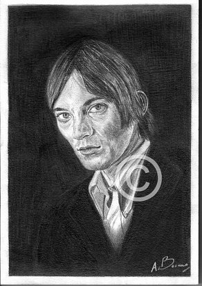 Steve Marriott Pencil Portrait
