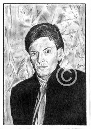 Steve Winwood Pencil Portrait