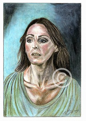 Suranne Jones Pencil Portrait