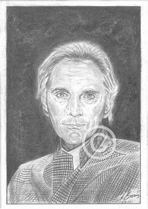 Terence Stamp Pencil Portrait