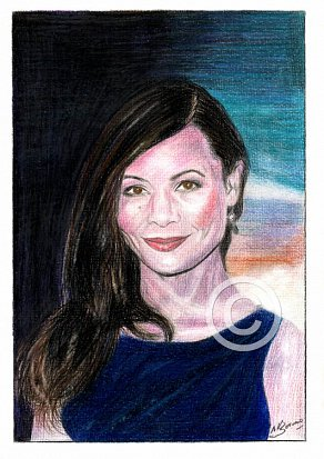 Thandie Newton Pencil Portrait