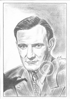 Trevor Howard Pencil Portrait